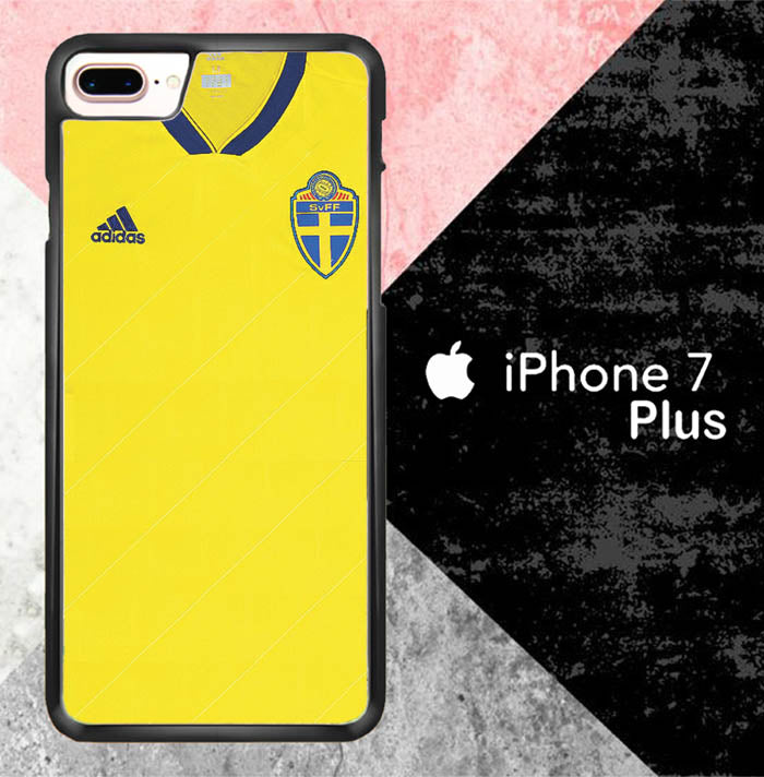 Sweden Home Kit World Cup 2018 J0526 iPhone 7 Plus Case New Year Gifts 2020-iPhone 7 Plus Cases-Recovery Case