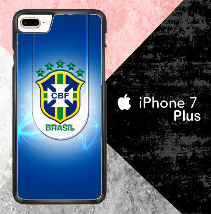 Brazil World Cup Logo Wallpaper J0564 iPhone 7 Plus Case New Year Gifts 2020-iPhone 7 Plus Cases-Recovery Case