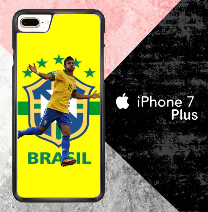 Neymar Brazil Star Player J0566 iPhone 7 Plus Case New Year Gifts 2020-iPhone 7 Plus Cases-Recovery Case