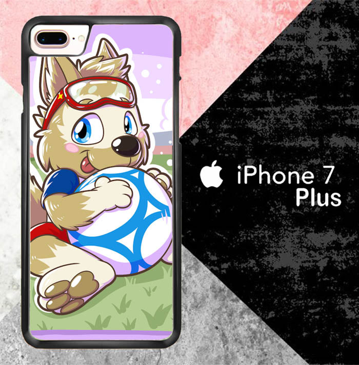 Cute Zabivaka J0588 iPhone 7 Plus Case New Year Gifts 2020-iPhone 7 Plus Cases-Recovery Case
