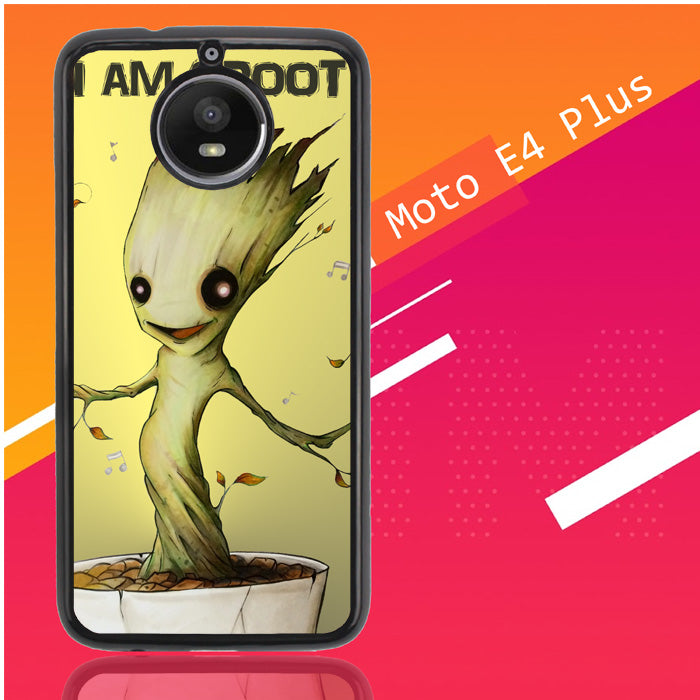 Groot Baby C0010 Motorola Moto E4 Plus Case New Year Gifts 2020-Motorola Moto E4 Plus-Recovery Case