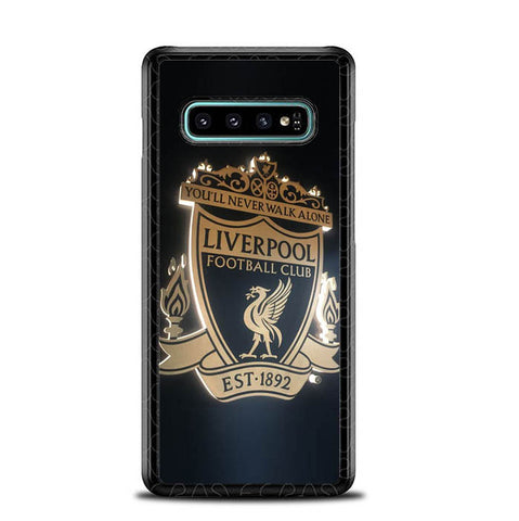 Liverpool fc club badge E1340 Samsung Galaxy S10 Plus Cover Cases