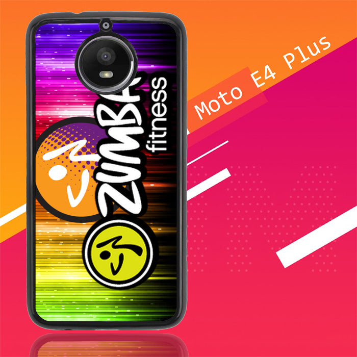Zumba Fitness Logo R0176 Motorola Moto E4 Plus Case Christmas Gifts | Xmas Presents and Gift Ideas-Motorola Moto E4 Plus-Recovery Case