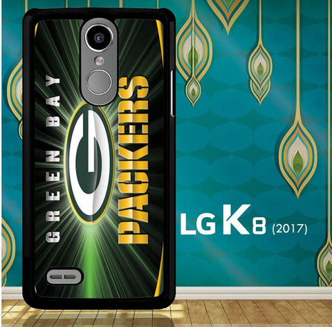 Green Bay Packers G0136 LG K8 2017 / LG Aristo / LG Risio 2 / LG Fortune / LG Phoenix 3  Cover Cases
