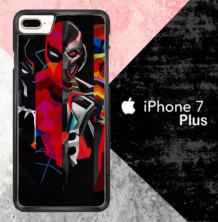 Postr Comic Heros G0433 iPhone 7 Plus Case New Year Gifts 2020-iPhone 7 Plus Cases-Recovery Case