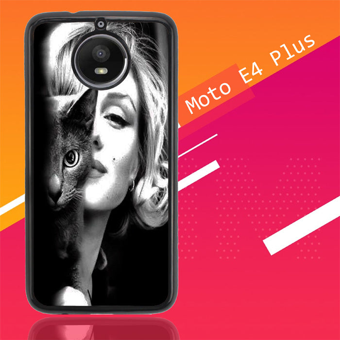 Marilyn Monroe V0465 Motorola Moto E4 Plus Case New Year Gifts 2020-Motorola Moto E4 Plus-Recovery Case