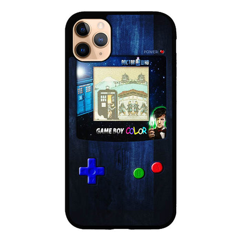 Retro gameboy tardis doctor who V0445 iPhone 11 Pro Max Case