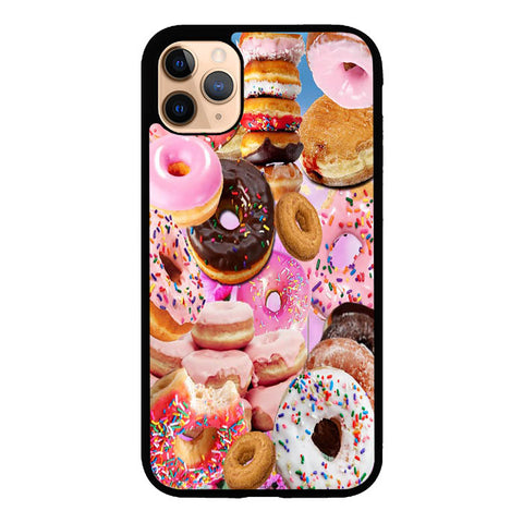 Sprinkle doughnuts V0442 iPhone 11 Pro Max Case