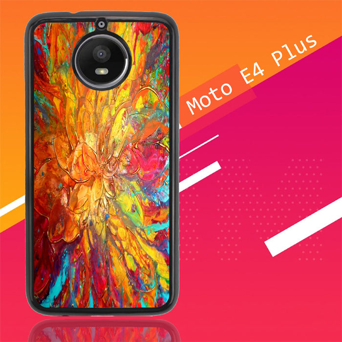 Abstract Paintings V0024 Motorola Moto E4 Plus Case New Year Gifts 2020-Motorola Moto E4 Plus-Recovery Case
