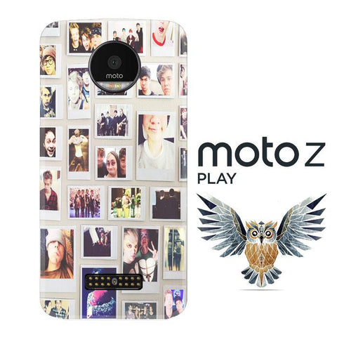 1 DIRECTION COLLAE V0611 Motorola Moto Z Play Cover Cases