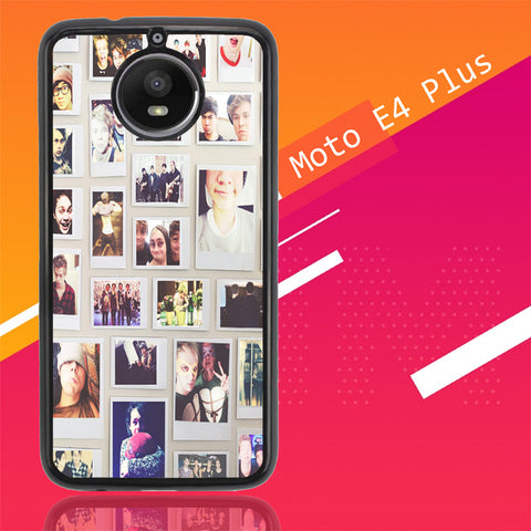 1 Direction Collae V0611 Motorola Moto E4 Plus  Cover Cases