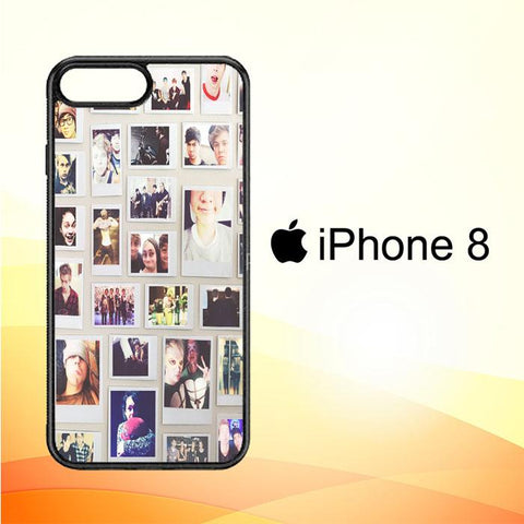 1 DIRECTION COLLAE V0611 iPhone 8 Cover Cases