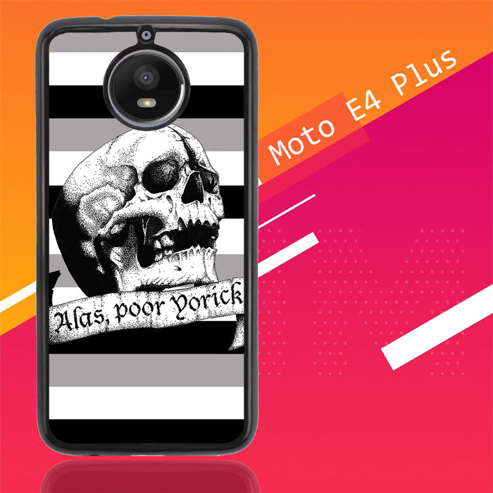 Alas Poor Hamlet V1003 Motorola Moto E4 Plus Case New Year Gifts 2020-Motorola Moto E4 Plus-Recovery Case