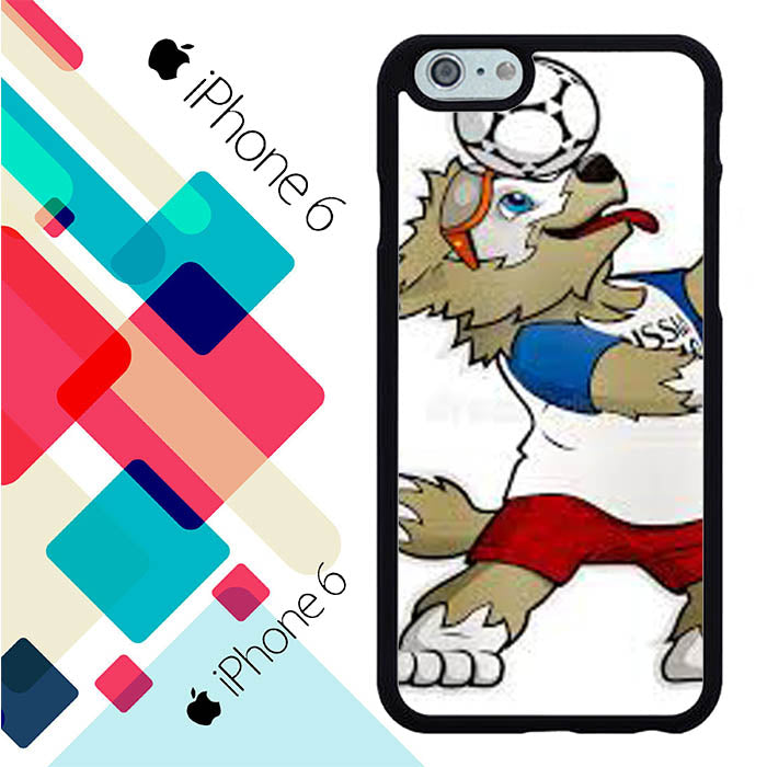 Zabivaka mascot white iPhone 6 | 6S Case Christmas Gifts | Xmas Presents and Gift Ideas-iPhone 6 | 6S Cases-Recovery Case