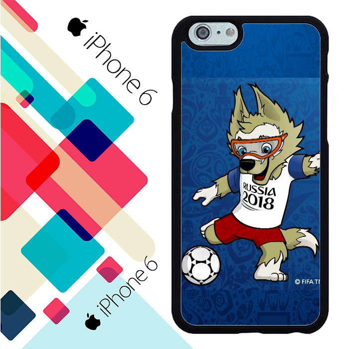 russia 2018 official mascot iPhone 6 | 6S Case New Year Gifts 2020-iPhone 6 | 6S Cases-Recovery Case