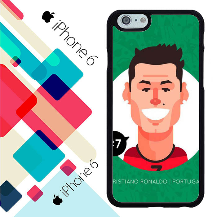 Cristiano ronaldo cartoon iPhone 6 | 6S Case New Year Gifts 2020-iPhone 6 | 6S Cases-Recovery Case