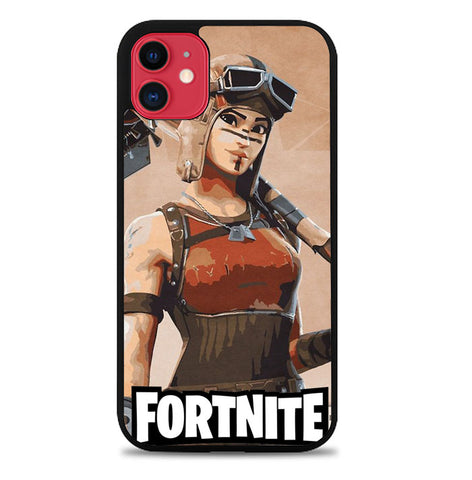 Fortnite Renegade P0378 iPhone 11 Case