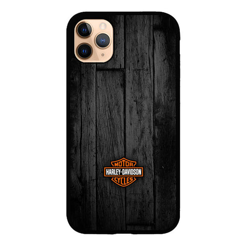 Motor Harley Davidson Dark Wood P0905 iPhone 11 Pro Max Case