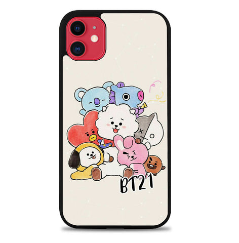 BTS BT21 P1110 iPhone 11 Case