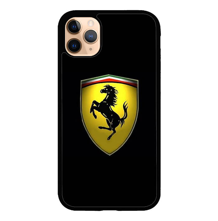 Ferrari Black Background P1552 Iphone 11 Pro Cover Cases Recovery Case