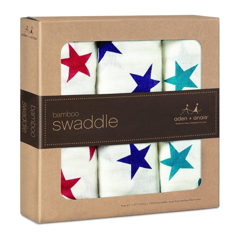 Aden and Anais Bamboo Swaddles (Celebration)