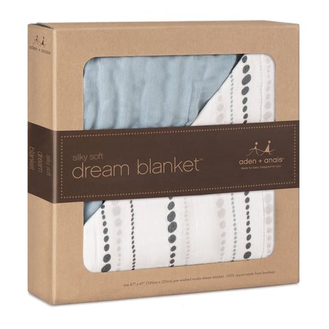 Aden and Anais Bamboo Dream Blanket (Moonlight beads)