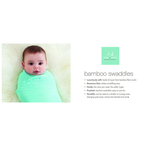 Aden and Anais Bamboo Swaddles (Azure)
