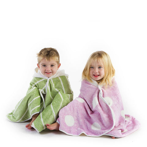 Cuddledry Organic Pink Dot Towel