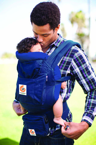 Ergobaby Organic Carrier Bundle - Navy