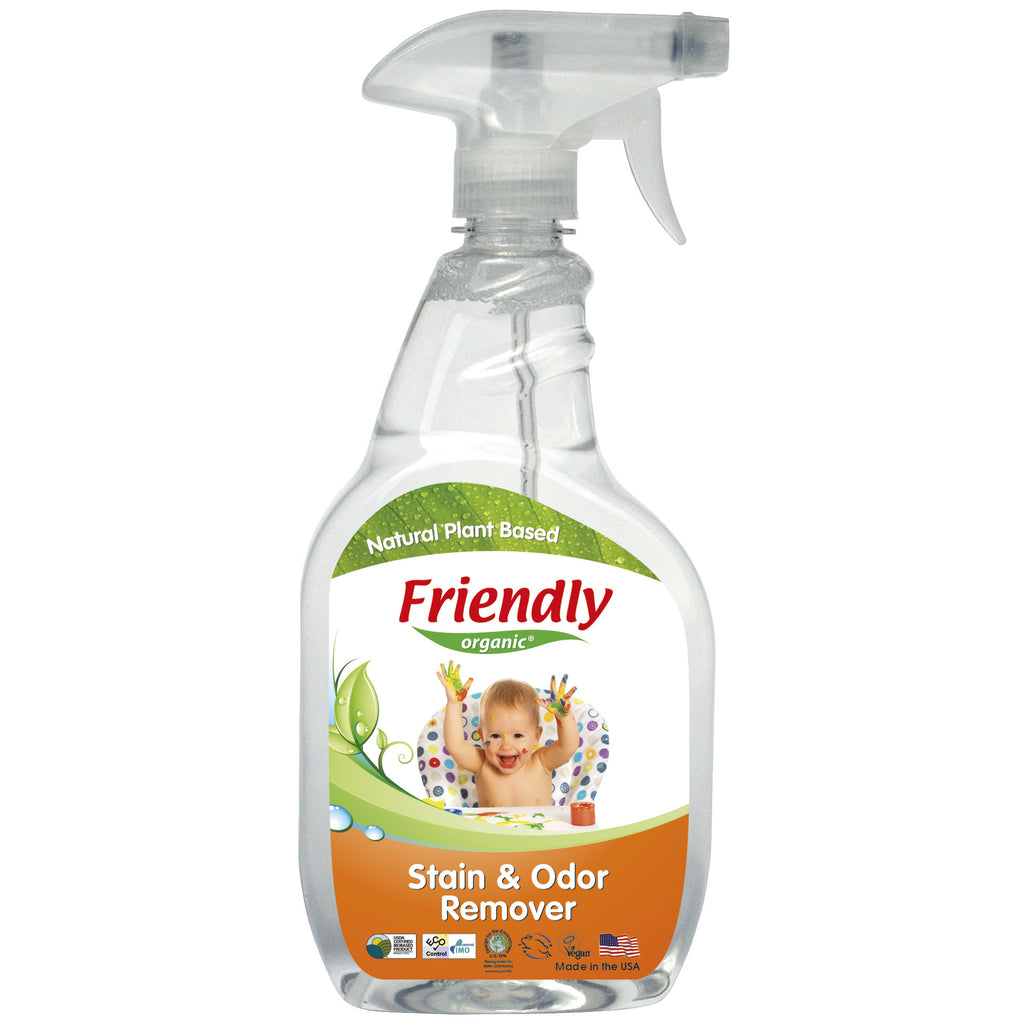 Friendly Organic Stain and Odour Remover (650ML)