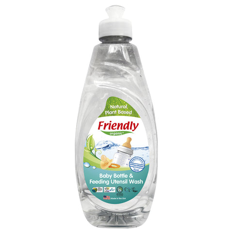 Friendly Organic Baby Bottle & Feeding Utensil Wash (739ML)