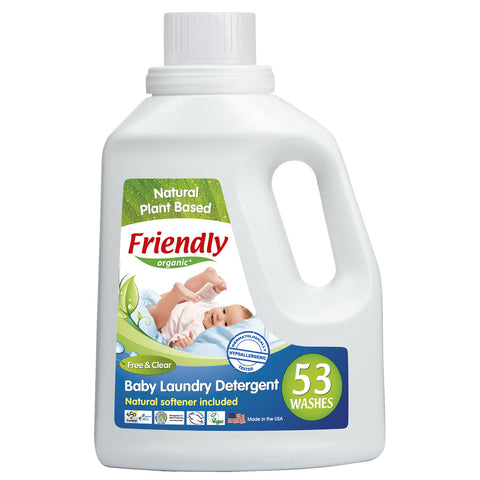 Friendly Organic Baby Liquid Laundry Detergent (1.57L)