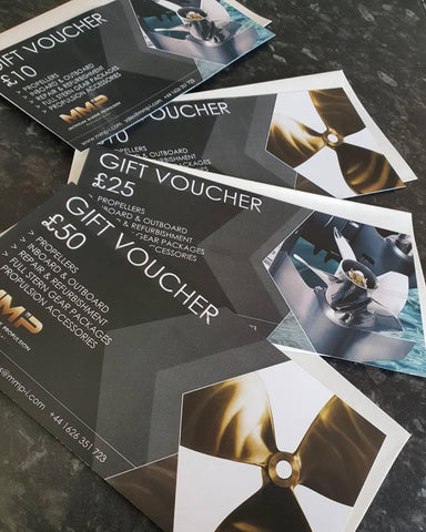 £10 Michigan Marine Propulsion Gift Voucher