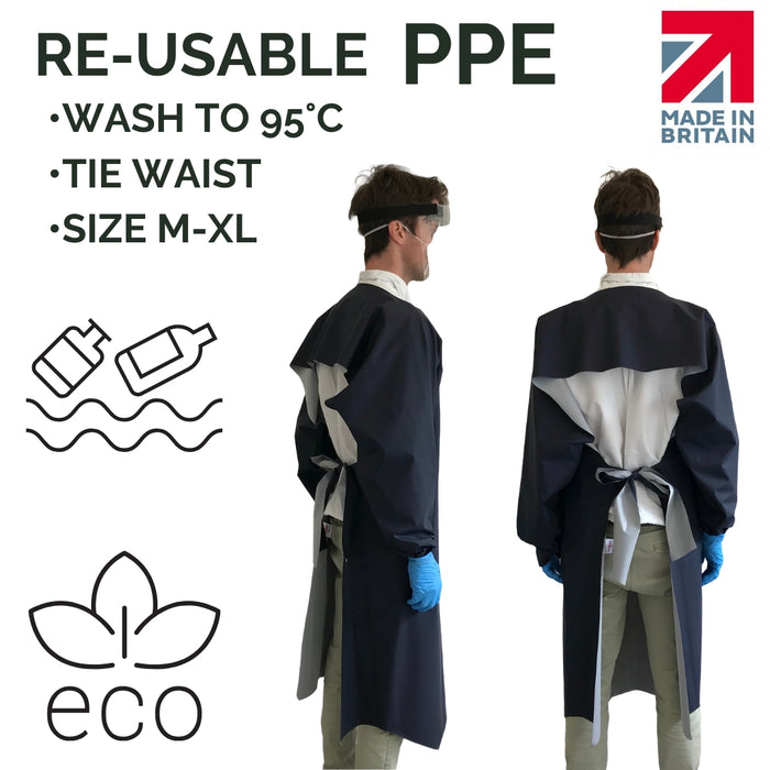 Re-Usable Washable PPE Gowns - The Benefits