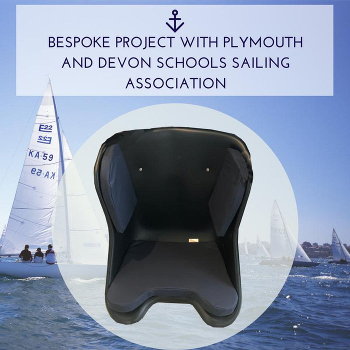 Case Study: Bespoke Waterproof Cushion for one off project with Plymouth & Devon Schools Sailing Association | Putnams