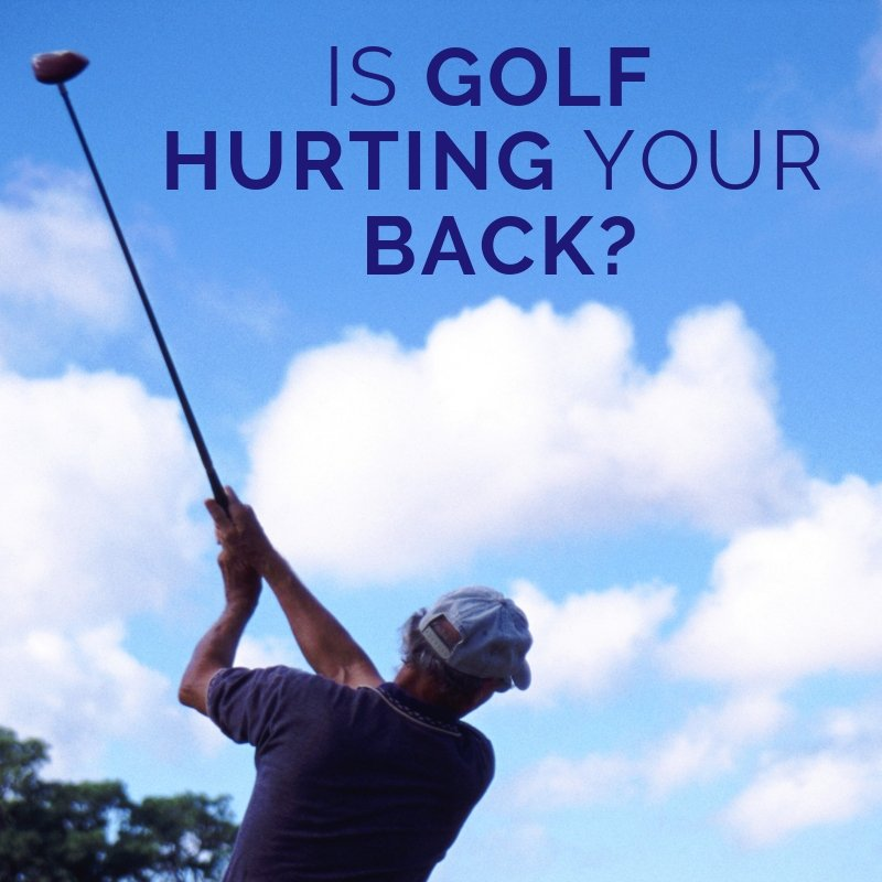 Is Golf Bad For Your Back? | Putnams
