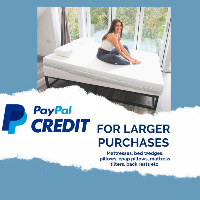 PayPal Credit - Pay later - Mattresses, Pillows, Bed Wedges