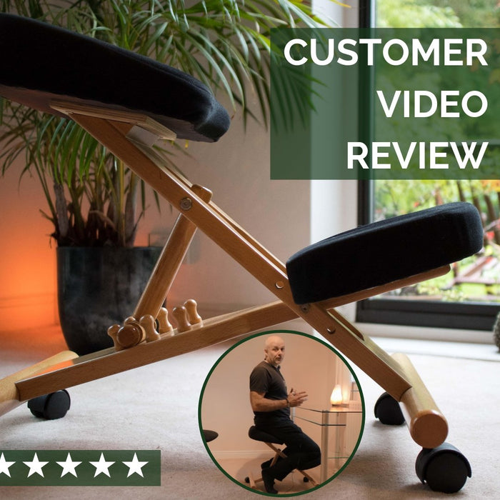 Posture / Kneeling Chair Customer Review UK | Putnams