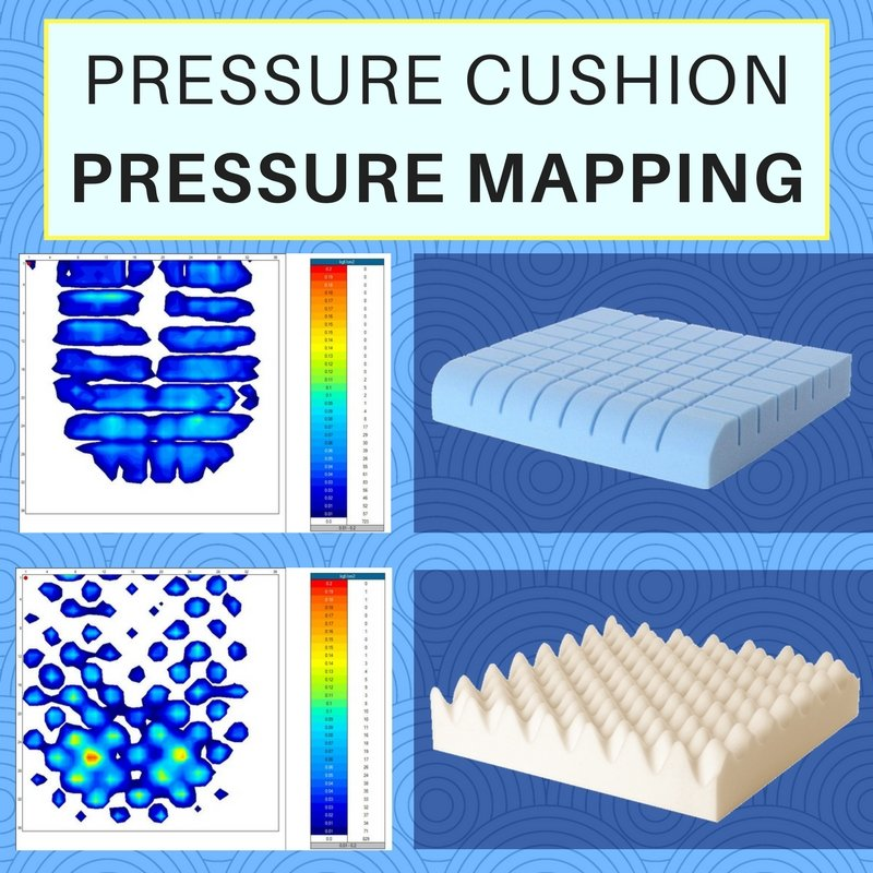 Pressure Cushion Seating Mapping Comparison Diagram Review UK | Putnams