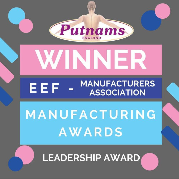 Putnams Wins The Devon Leadership award - EEF Manufacturing | Putnams