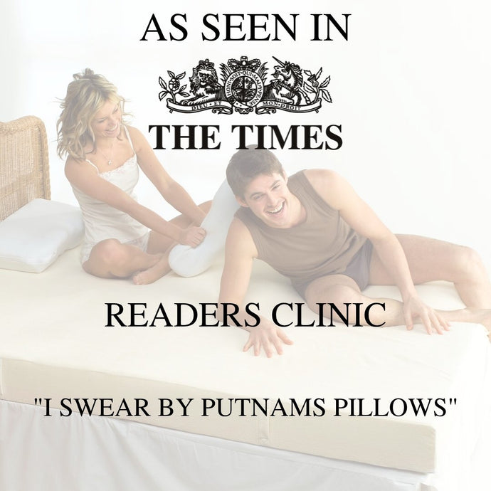 The Putnam Pillow... as seen in The Times Readers Clinic