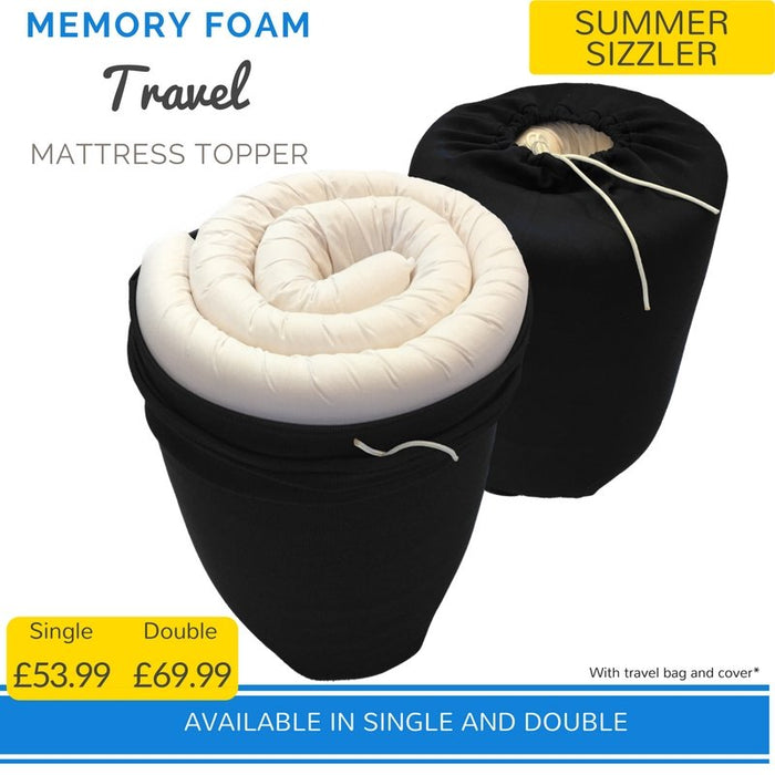 Travel Memory Foam Topper | Putnams