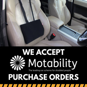 We Accept Motability Purchase Orders for Wedges, Cushions & Back-rests | Putnams
