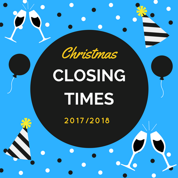 Christmas closing opening next day orders post standard delivery last before 12