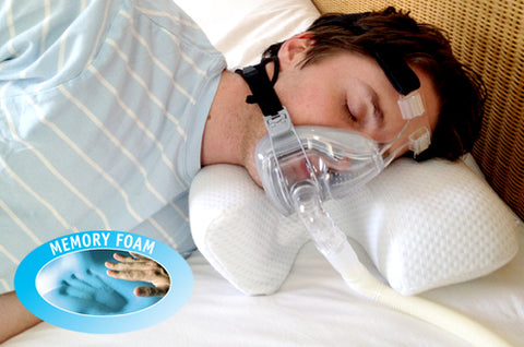 cpap pillow no blow out in eyes air