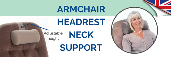Armchair Headrest Neck Support Pillow