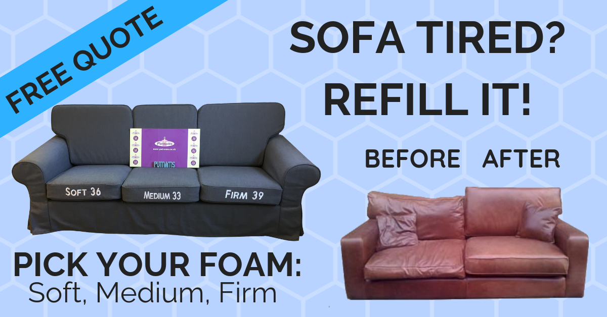 sofa cushion refilling service south west mail covers reviews uk putnams
