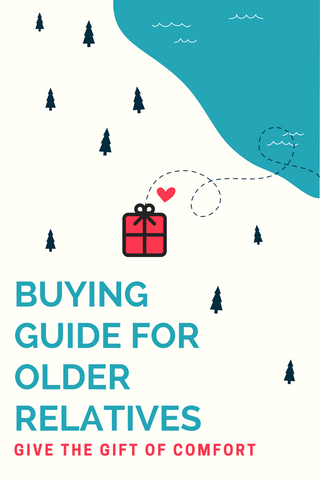 Christmas gift guide buying older relations family grandparents