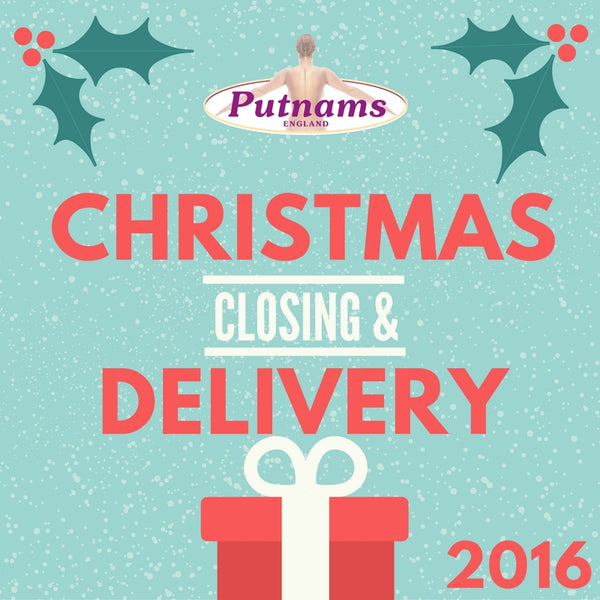 christmas closing delivery times 2016