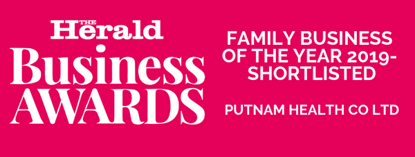 business awards 2019 herald Family business awards Putnams Putnam Health Co